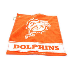 Miami Dolphins Woven Towel