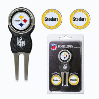 Pittsburgh Steelers Golf Divot Tool Pack