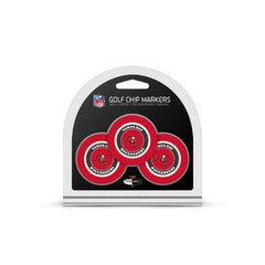 Tampa Bay Buccaneers 3 Pack Golf Chip