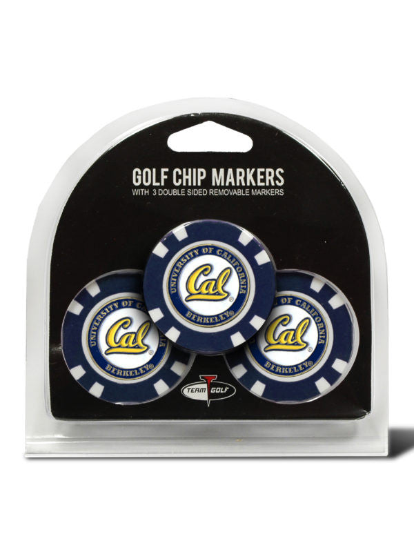 California Berkeley 3 Pack Golf Chip Ball Markers