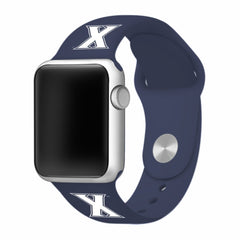 Xavier Musketeers Silicone Apple Watch™ Band - Blue