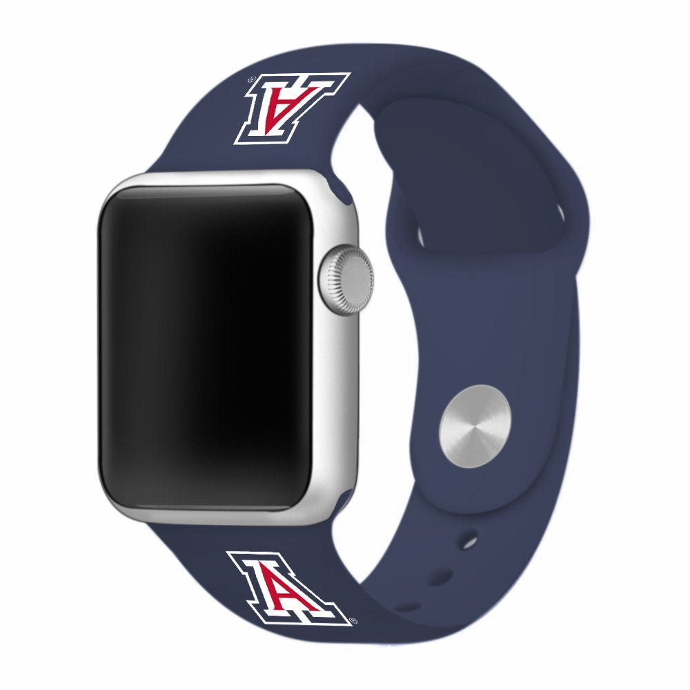 Arizona Wildcats Silicone Apple Watch™ Band - Navy Blue