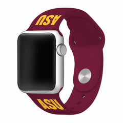 Arizona State Sun Devils Silicone Apple Watch™ Band - Maroon