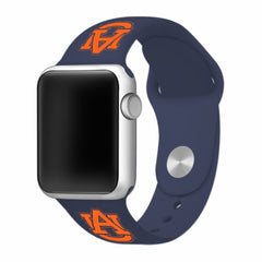 Auburn Tigers Silicone Apple Watch™ Band - Navy Blue