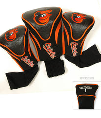 Baltimore Orioles 3 Pk Contour Sock Headcovers