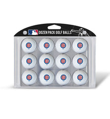 Chicago Cubs Golf Balls Dozen Pack