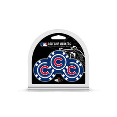 Chicago Cubs 3 Pack Golf Chips
