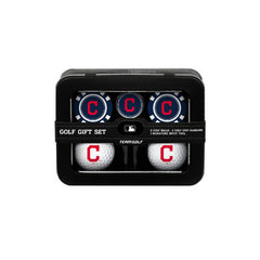 Cleveland Indians 2 Ball Tin Gift Set