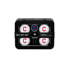 Cleveland Indians 4 Ball Tin Gift Set