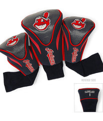 Cleveland Indians 3 Pk Contour Sock Headcovers