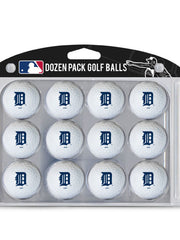 Detroit Tigers Golf Balls Dozen Pack