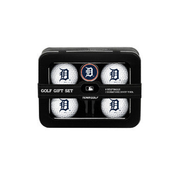 Detroit Tigers 4 Ball Tin Gift Set