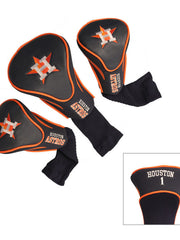 Houston Astros 3 Pk Contour Sock Headcovers