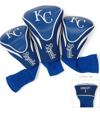 Kansas City Royals 3 Pk Contour Sock Headcovers