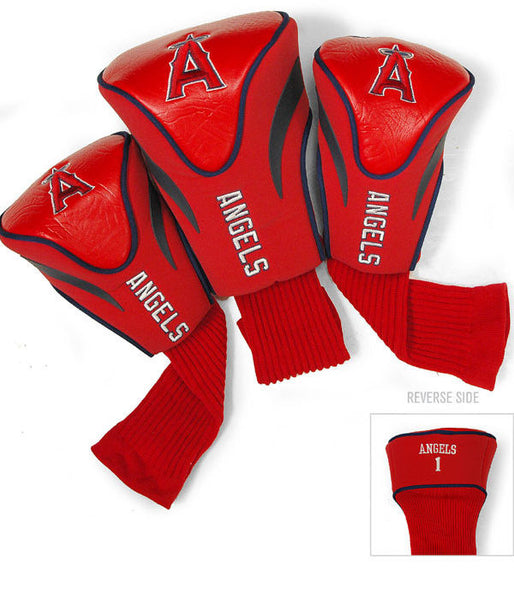 Los Angeles Angels 3 Pk Contour Sock Headcovers
