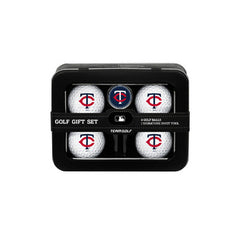 Minnesota Twins 4 Ball Tin Gift Set