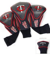 Minnesota Twins 3 Pk Contour Sock Headcovers