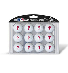 Philadelphia Phillies Golf Balls Dozen Pack