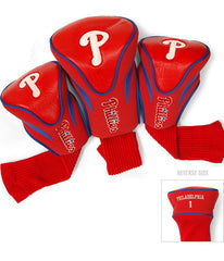 Philadelphia Phillies 3 Pk Contour Sock Headcovers