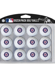 Washington Nationals Golf Balls Dozen Pack