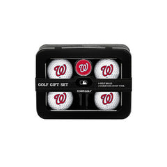 Washington Nationals 4 Ball Tin Gift Set