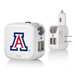 Arizona Wildcats 2 in 1 USB Charger