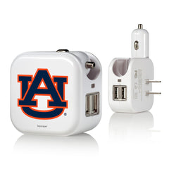 Auburn Tigers 2 in 1 USB Charger