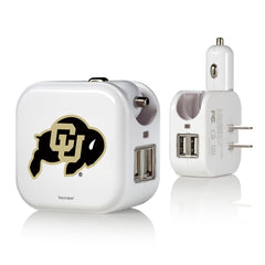 Colorado Buffaloes 2 in 1 USB Charger