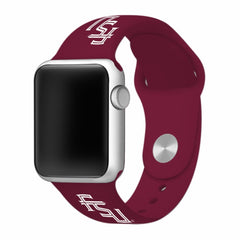 Florida State Seminoles Silicone Apple Watch™ Band - Garnet V1