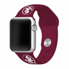 Florida State Seminoles Silicone Apple Watch™ Band - Garnet V2