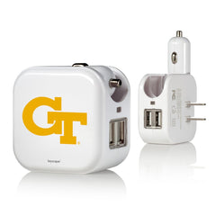 Georgia Tech 2 in 1 USB Charger