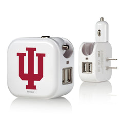 Indiana University 2 in 1 USB Charger