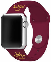 Iowa State Cyclones Silicone Apple Watch™ Band - Cardinal