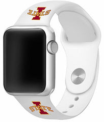 Iowa State Cyclones Silicone Apple Watch™ Band - White