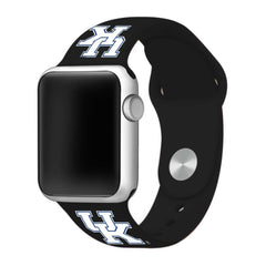Kentucky Wildcats Silicone Apple Watch™ Band - Black