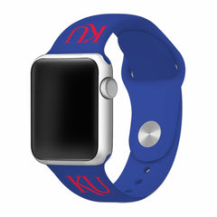 Kansas Jayhawks Silicone Apple Watch™ Band - Blue V1