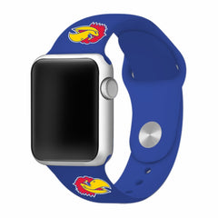 Kansas Jayhawks Silicone Apple Watch™ Band - Blue V2