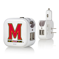Maryland Terps 2 in 1 USB Charger
