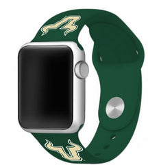 South Florida Bulls Silicone Apple Watch™ Band - Green