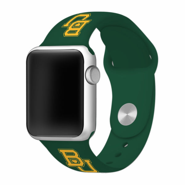 Baylor Bears Silicone Apple Watch™ Band - Green