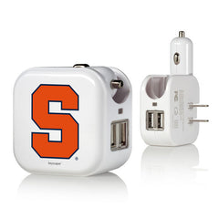 Syracuse Orange 2 in 1 USB Charger