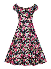 Doleros Peony Floral Doll Dress