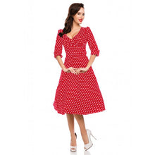 Katherine Swing Dress with Three Quarter Sleeve