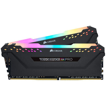 RAM Corsair VENGEANCE RGB PRO 32GB (2 x 16GB) - Bus 3200MHz C16 Black