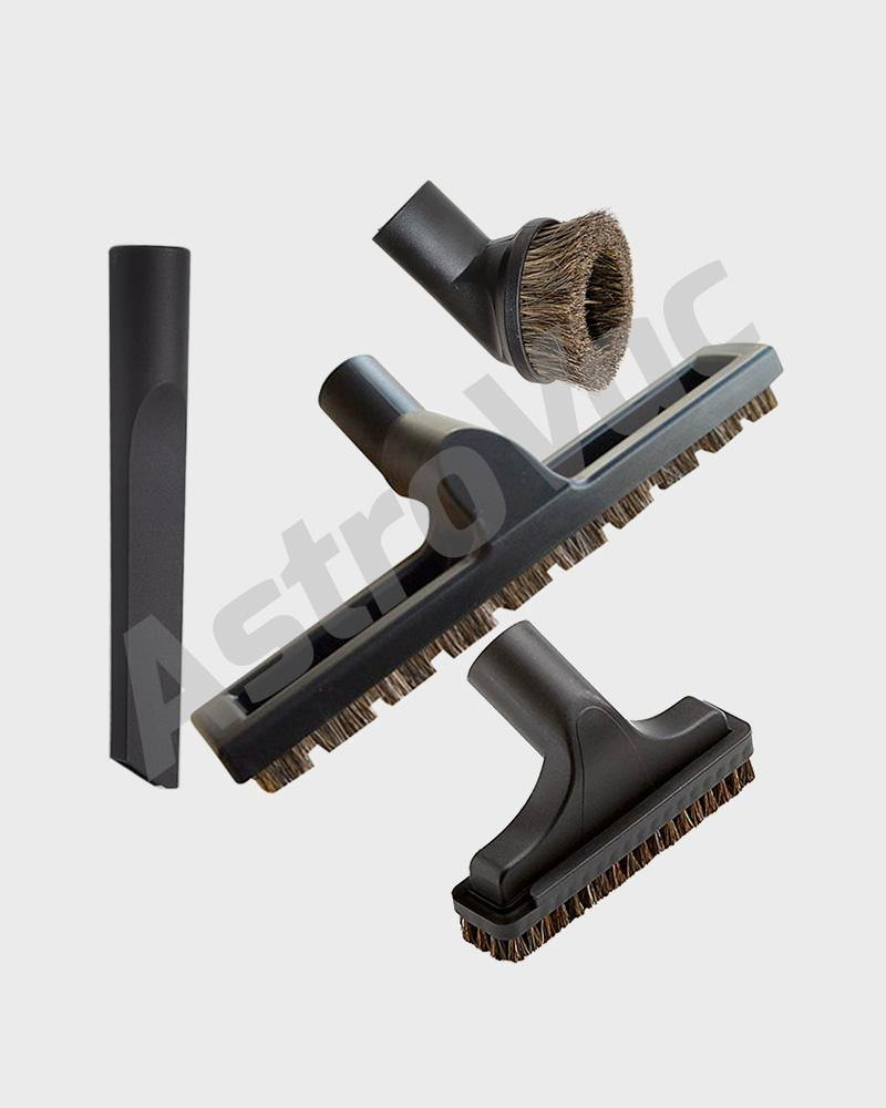 4-Piece Vacuum Tool Set Hard Floor