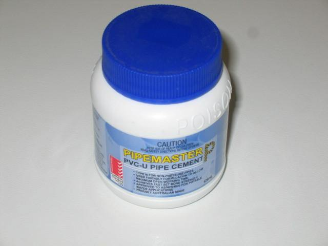 PVC Solvent Cement 125ml - 2 Bottle