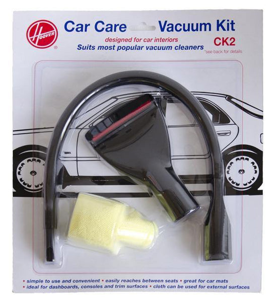 Car Care Vacuum Kit with 600mm Long Flexible Crevice Tool