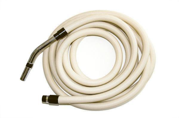 Standard Ducted Vacuum Hose with Premium Hose Ends - 12M
