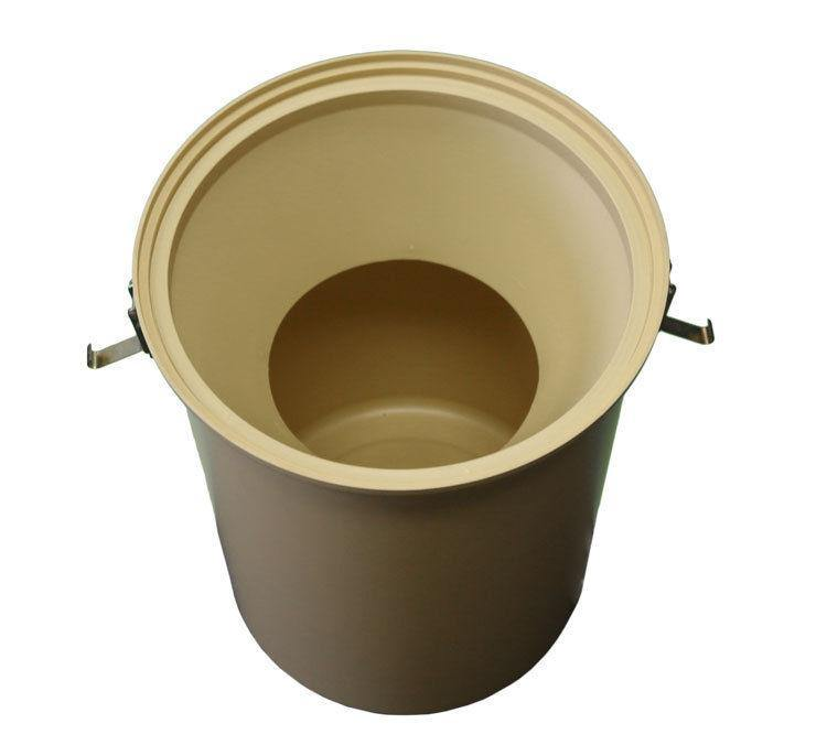 Electron Plastic Bucket with Dust Cone & Clips