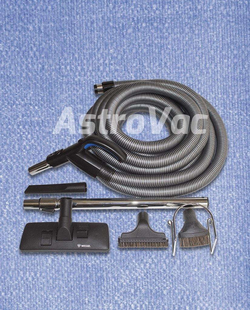 Plastiflex Ducted Vacuum Switch Hose Kit - 12M